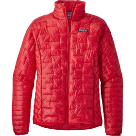 Patagonia Micro Puff Giacca Donna rosso